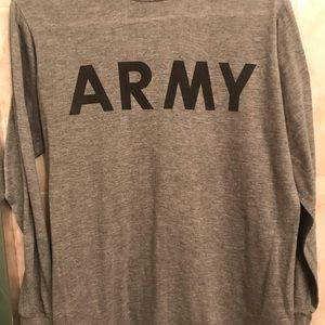 Long-Sleeve Army Tee